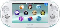 Sony PlayStation Vita Wi-Fi Light blue / White PCH-2000ZA14 Console Japan NEW