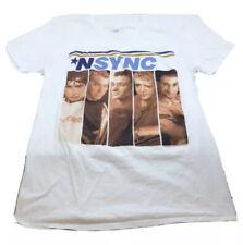 Nsync Band T Shirt White Size Small Preowned Timberlake N'Sync