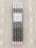 Vera Bradley Mechanical Pencil Set Rain Forest 5 Pencils Purse School MSRP $12