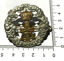 More details for boer war british army princess of wales's own yorkshire 19th foot cap badge -b77