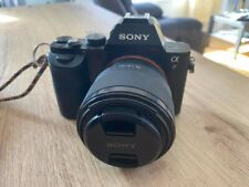Sony Alpha A7 24.3 MP Mirrorless Digital Camera with 50mm f/1.8 Lens - Black