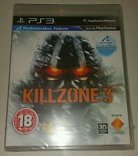 KILLZONE 3 PS3 New Sealed UK PAL Version Game Sony PlayStation 3 Kill zone