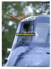 q874 - Prince Charles flies a Wessex Helicopter 1985 - Royalty postcard