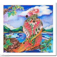 Pergola FANTASY BIRD S/N Ltd Ed Giclee on Canvas