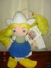 disneyland its a small world dutch girl bean bag retired