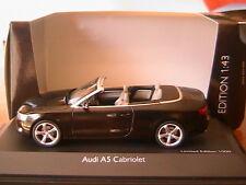 AUDI A5 CABRIOLET 3.0 TDI BRILLIANT BLACK SCHUCO 07283 1/43 ROADSTER SCHWARZ
