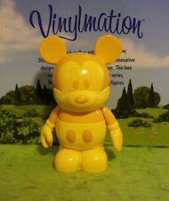"Disney Vinylmation 3"" Park Set 6 Urban Tonal Topper Yellow Mickey Mouse"