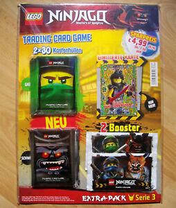 LEGO NINJAGO Serie 3 Limitiert LE23 Gemeiner Luke Cunningham mit Extrapack / OVP