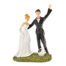 FUN Tifosi sposa e sposo per torta cake matrimonio coppia figura xyl1104 NUOVO CON SCATOLA