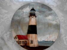 "Collectible Sakura - David Carter Brown ""By the Sea"" Lighthouse Art Plate"