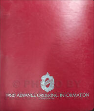 1980 Olds Ordering Guide Dealer Album Supreme Cutlass 88 98 Toronado Calais