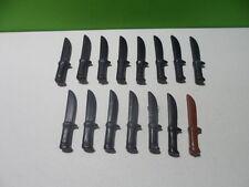 PLAYMOBIL – Lot de 15 petits couteaux / Saber / 3802 3815 3830 3870 3872 3878