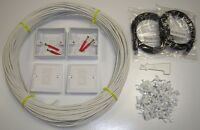 10MTR CAT5E Internal Ethernet Network Extension Kit  100% COPPER See ebay shop