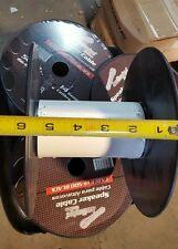 "8.5"" EMPTY Plastic Wire Spools Bobbin CORD RIBBON CRAFTS REEL HOSE FILAMENT 2 Pc"