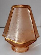 Fab French Retro Vintage Art Deco Glass Lampshade, Lightshade !