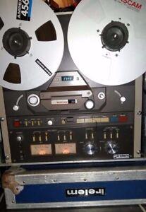 Tascam 32-2 Vintage 2 Pistes à Bobine / Enregistreur à Cassette Magnétophone
