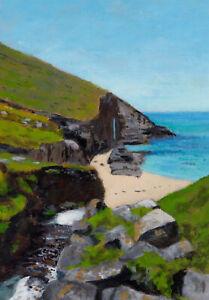 """""""Nanjizal""""   (Painted Outside)   Cornwall/Cornish art"""