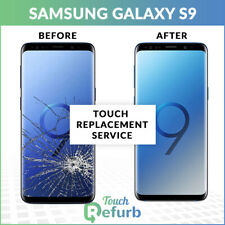 Samsung Galaxy S9 Cracked Front LCD Screen Glass Replacement Repair Service