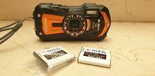 Camara fotografica Pentax Optio Wg-2 waterproof crushproof 16MP cmos 5x zoom