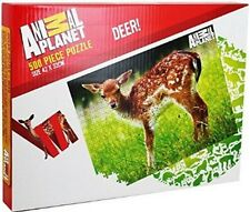 500 Piece Animal Planet Jigsaw Puzzle Toy - WILD DEER BAMBI BUCK DOE 31-7135