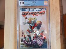HARLEY QUINN #1 - CGC 9.8 - COMIC MINT EDITION - COLOR - DC  UNIVERSE REBIRTH