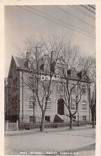 A70/ Mount Vernon New York NY Real Photo RPPC Postcard 107 High School