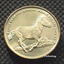 COMMEMORATIVE COIN OF POLAND - ANIMALS OF THE WORLD HORSE - KONIK TARPAN (MINT)