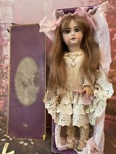 """Lovely Jumeau size 8 in box 20"""" Antique French Doll Poupee Ancienne"""