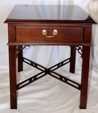 Vintage Ethan Allen Knob Creek Collection Traditional Cherry End Table