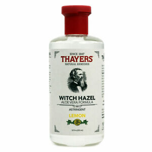 Thayers Witch Hazel Aloe Vera Astringent, Lemon - 12 fl oz FRESH, FREE SHIPPING