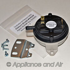 Osburn Drolet Pellet Stove Vacuum Air Pressure Switch Sensor #44029 +Instruction