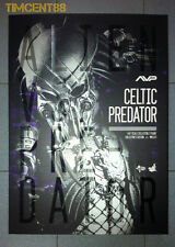 Hot Toys MMS221 Alien vs. Predator AVP 1/6 Celtic Predator 2.0 Figure Opened New
