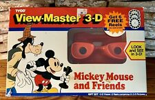 1990 Tyco Mickey Mouse And Friends 3-D View Finder With 7 Slides