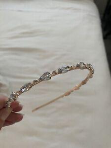 Womens Rhinestone Hairband Headband Diamante Occasion Hair