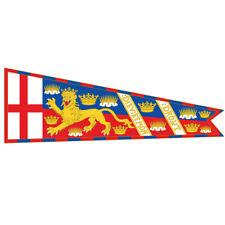 More details for st george cross royal standard of england banner flag.