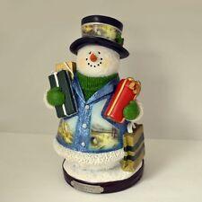 Thomas Kinkade Figurine - Gifts of Joy Snowman New Item 1513888021 COA