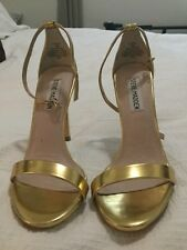STEVE MADDEN Womens  Ankle Strap Heels Shoes Sz 5.5