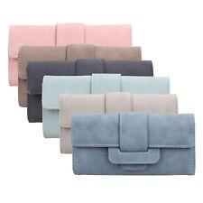 Women PU Leather Wallet Pouch Card Coin Holder Long Handbag Case Clutch Purse