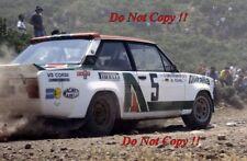 Walter Rohrl ALITALIA FIAT 131 ABARTH vincitore ACROPOLIS RALLY 1978 fotografia 9