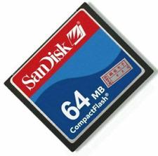 64mb Sandisk Compactflash Cf Kameras Speicherkarte für Nikon Canon Cf