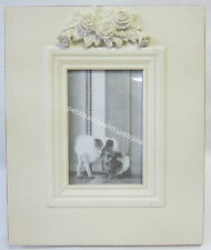 30cm New French Provincial Country Wooden Photo Frame with Ornate Carved Roses