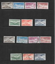 """Ireland - 1948-65 - """"Air""""  issues - 7 stamps - unmounted mint & used"""