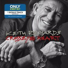 Keith Richards Crosseyed Heart w/exclusive bonustrack rolling stones best buy cd