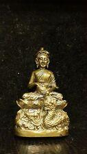Thai amulet Phra Bua Khem/Upagupta 1st Batch Solid brass Lp. Leng Super lucky