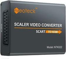 Neoteck Aluminum SCART To HDMI Converter 1080P SCART to HDMI Adapter + 3.5m