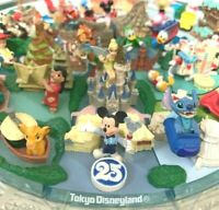 Tokyo Disney Resort Diorama Figure set 25th Anniversary FIGURE JAPAN [EXCELLENT]