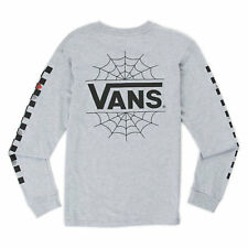 9155b88e84 Youth Boys Vans Off the Wall X Marvel Spiderman Long Sleeve Shirt M NWT  Winter