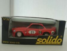 SOLIDO BMW 3000 CSL 1:43 NO 75 IN BOX MADE IN FRANCE