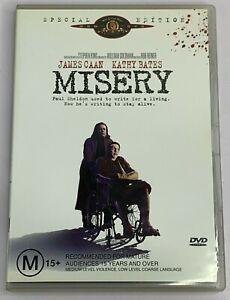 Misery (DVD) Thriller Stephen King Kathy Bates PAL Region 4 Free Postage