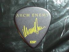 ARCH ENEMY Radioactive Riff Michael Amott Signature Concert Tour GUITAR PICK